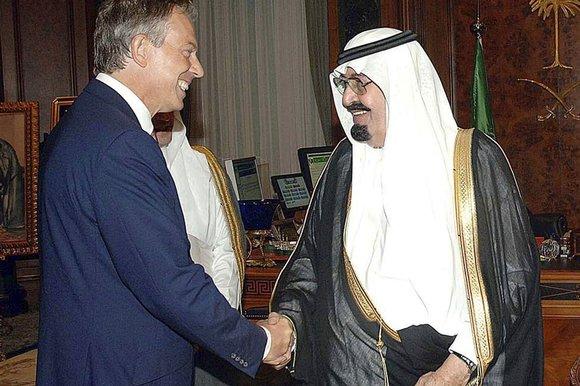 Blair & Saudis