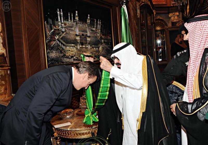 Cameron & Saudis
