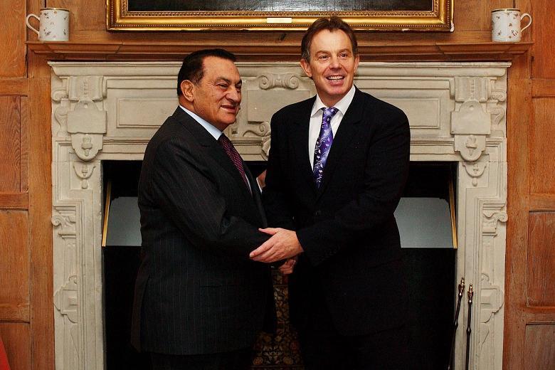 Blair & Mubarak
