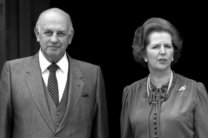 Thatcher & P.W. Botha