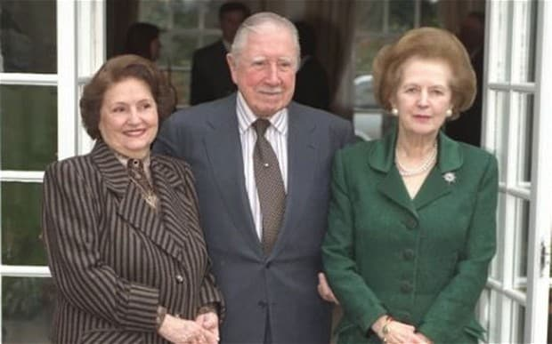 Thatcher & Pinochet
